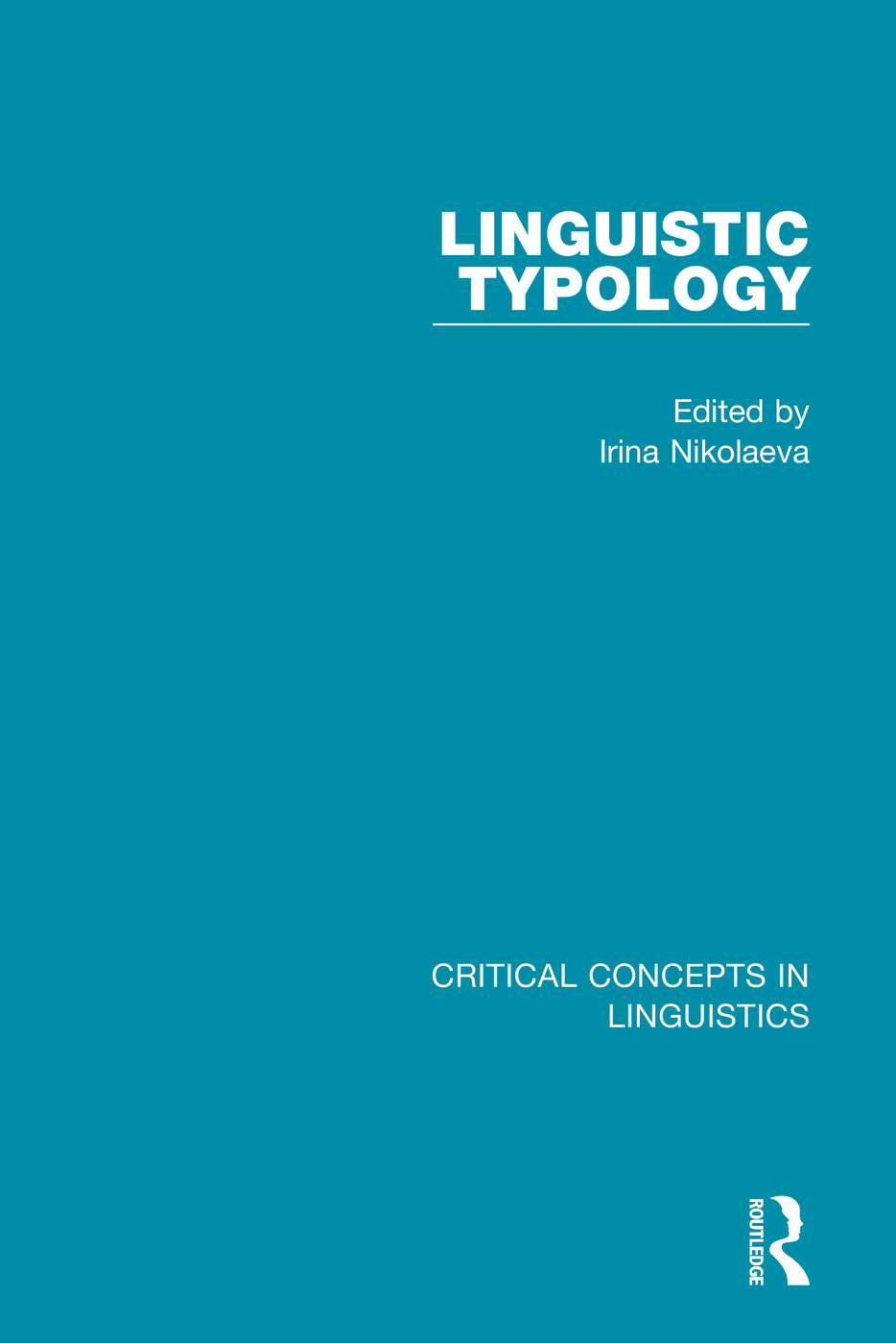 Linguistic Typology book cover