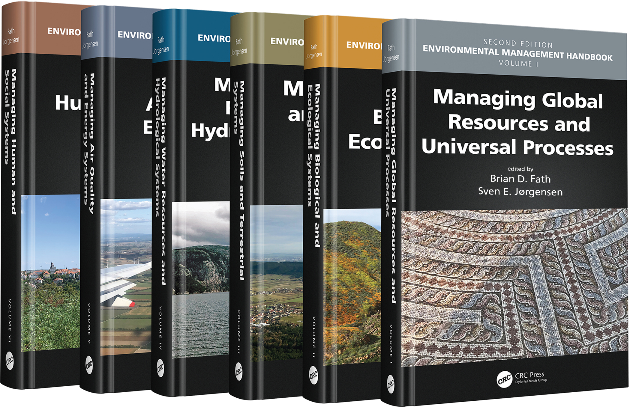 Environmental Management Handbook, Second Edition – Six Volume Set book cover