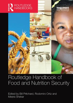 Routledge Handbook of Food and Nutrition Security: 1st Edition (Paperback) book cover