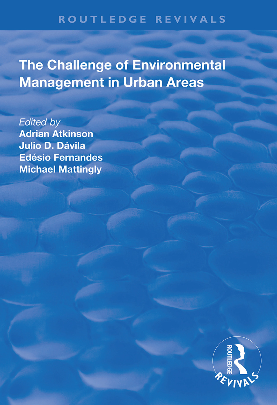 The Challenge of Environmental Management in Urban Areas book cover