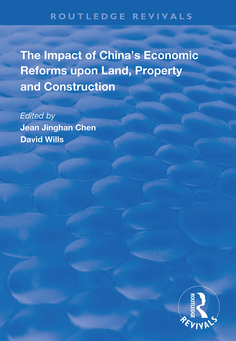 China's Land Reform and the Establishment of a Property Market: Problems and Prospects