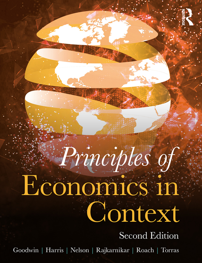 Principles of Economics in Context book cover