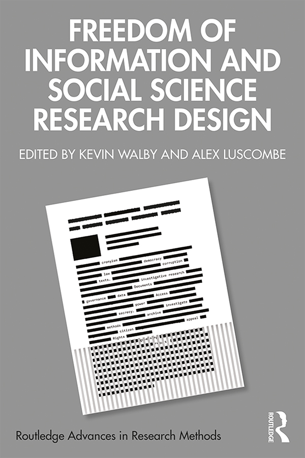 Freedom of Information and Social Science Research Design: 1st Edition (Hardback) book cover