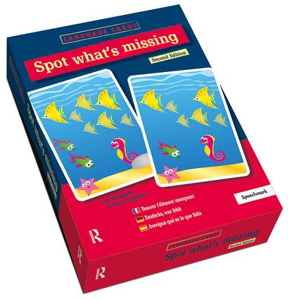 Spot What's Missing? Language Cards: 2nd Edition (Flashcards) book cover