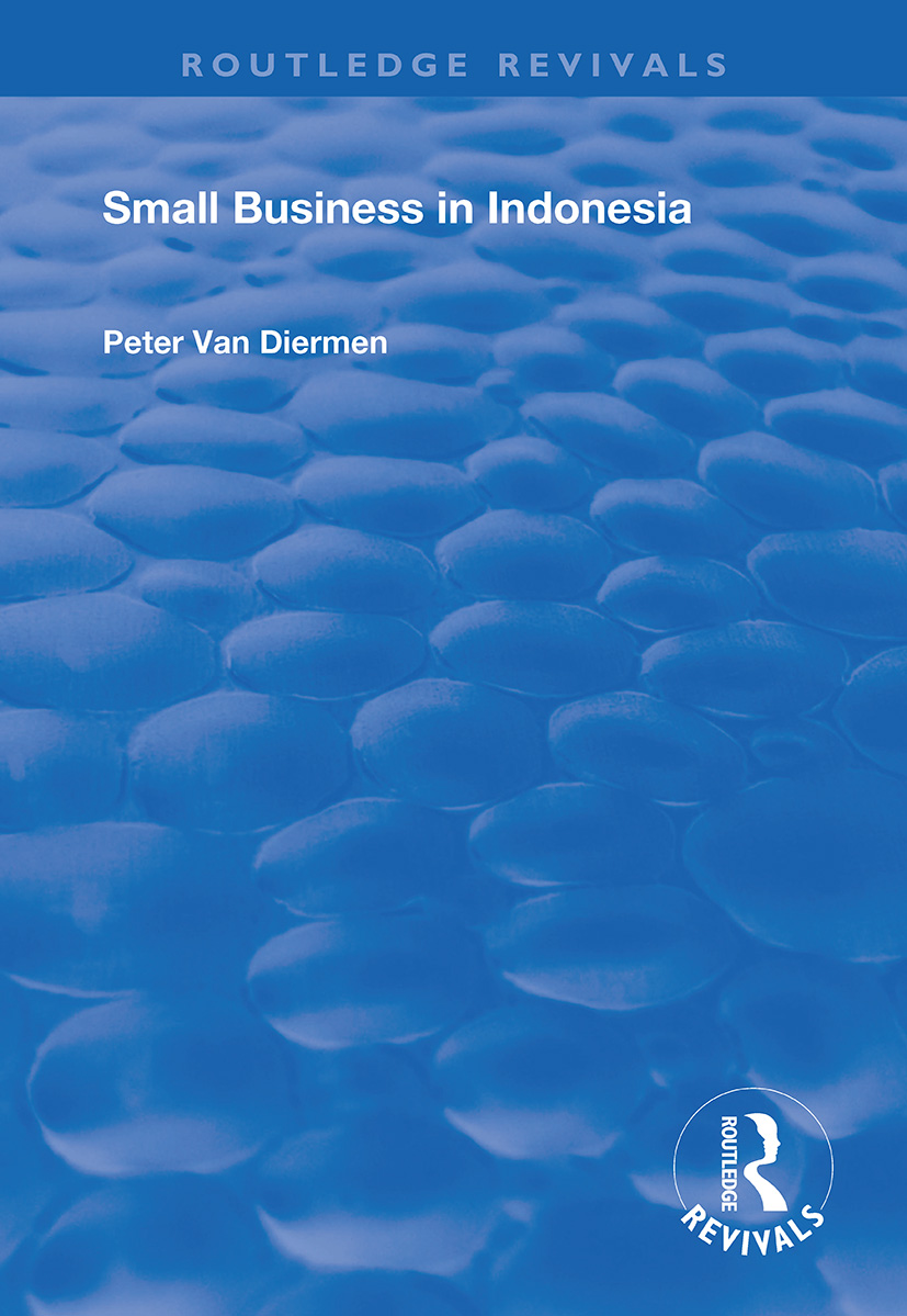 Small Business in Indonesia: 1st Edition (Paperback) book cover