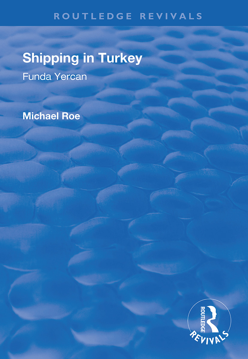 Shipping in Turkey: A Marketing Analysis of the Passenger Ferry Sector, 1st Edition (Paperback) book cover