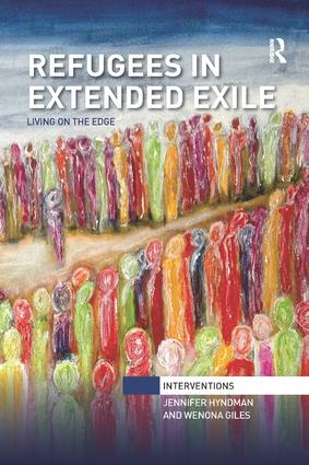 Refugees in Extended Exile: Living on the Edge, 1st Edition (Paperback) book cover