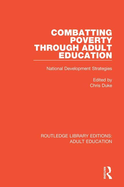 Combatting Poverty Through Adult Education
