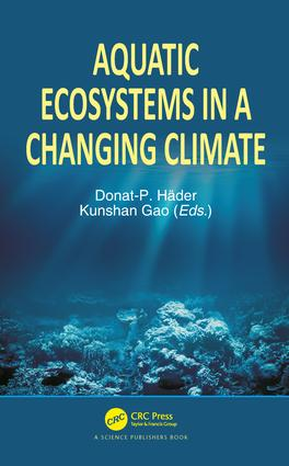 Aquatic Ecosystems in a Changing Climate: 1st Edition (Hardback) book cover