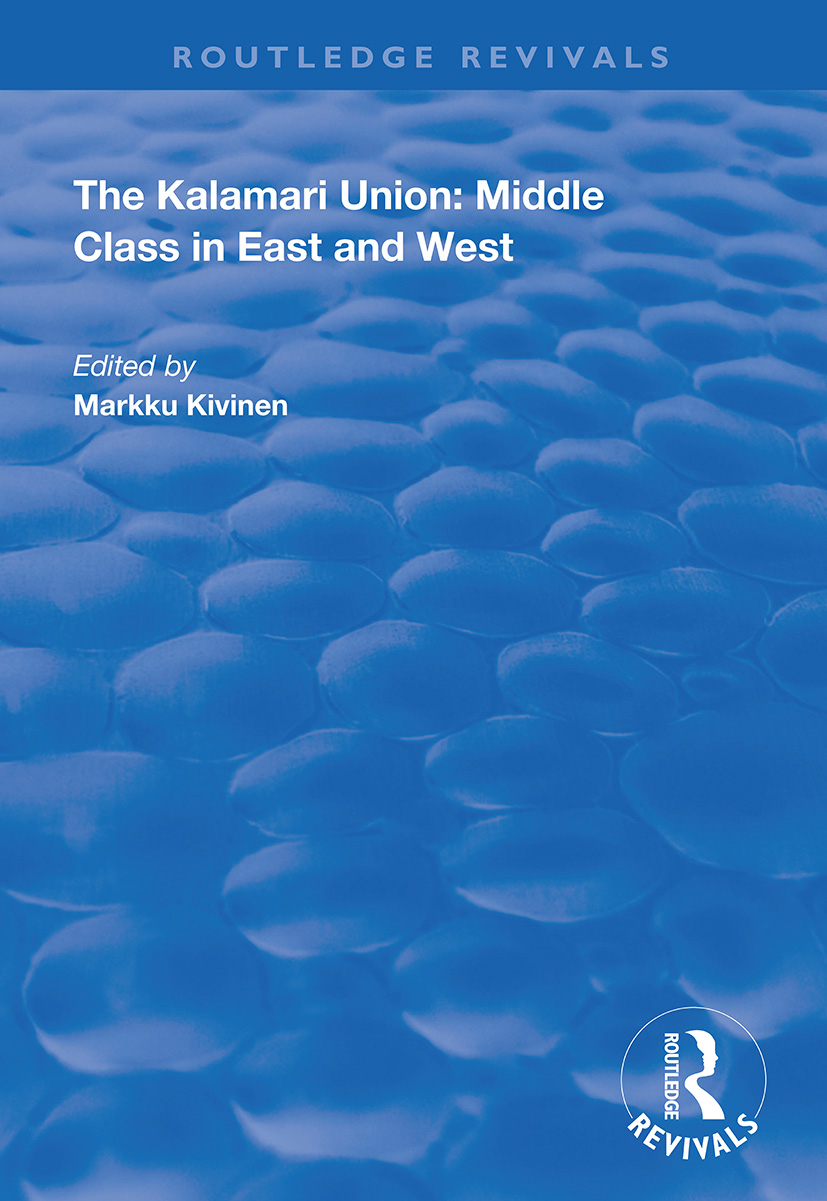 The Kalamari Union: Middle Class in East and West book cover