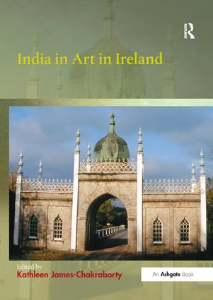 India in Art in Ireland book cover