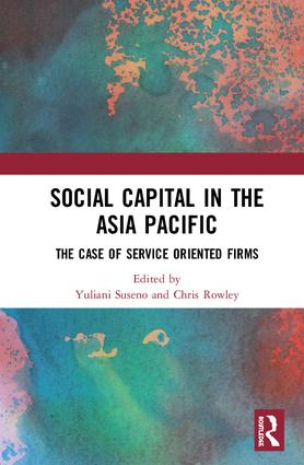 Social Capital in the Asia Pacific: Examples from the Services Industry, 1st Edition (Hardback) book cover