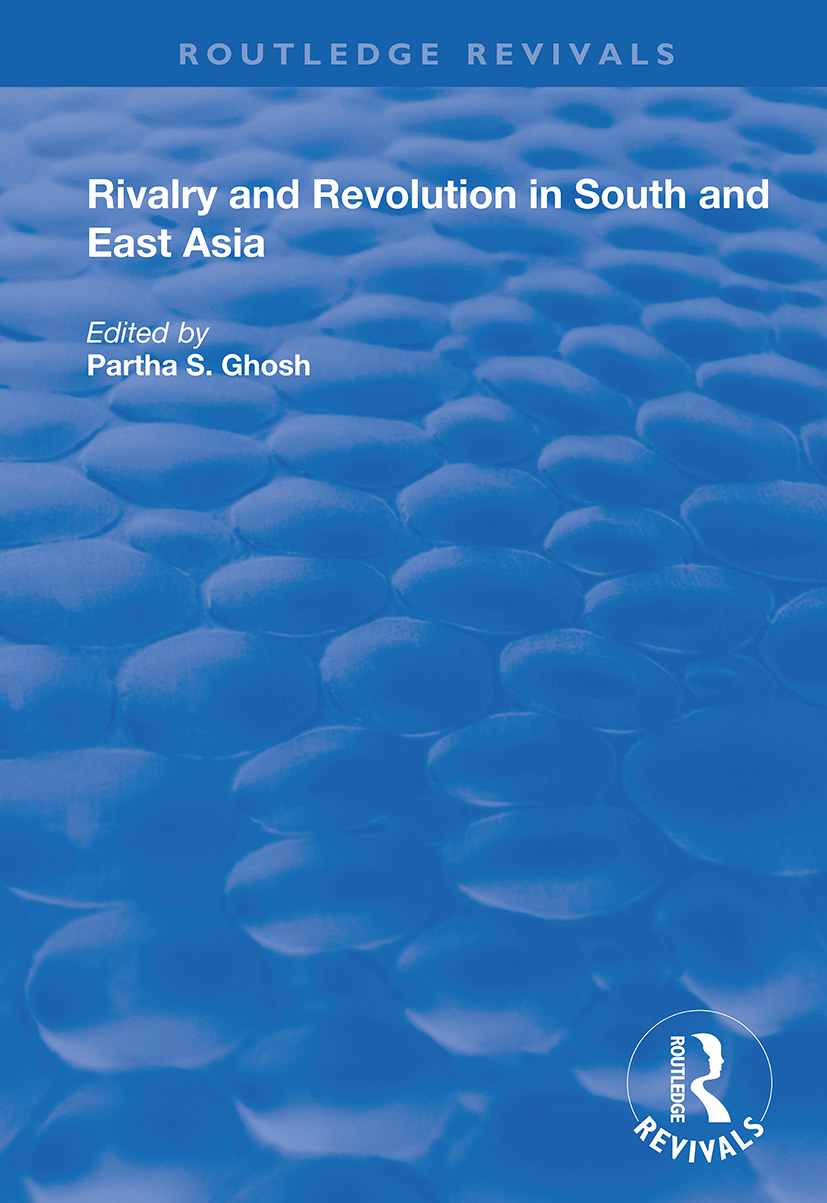 Rivalry and Revolution in South and East Asia book cover