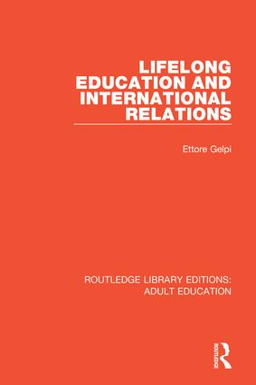 Lifelong Education and International Relations book cover
