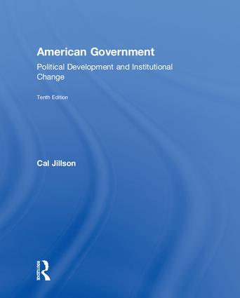 American Government: Political Development and Institutional Change book cover