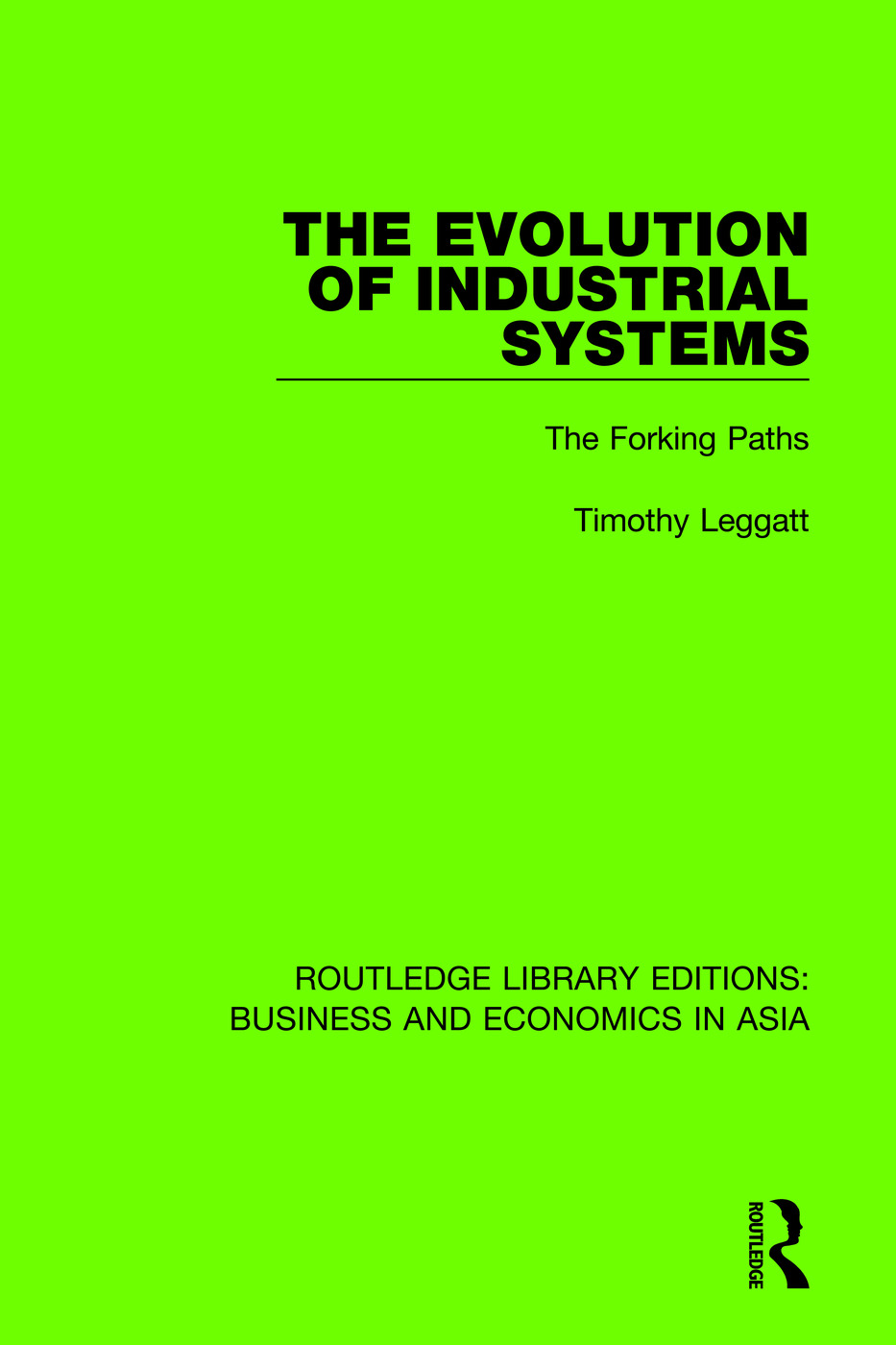 The Evolution of Industrial Systems: The Forking Paths book cover