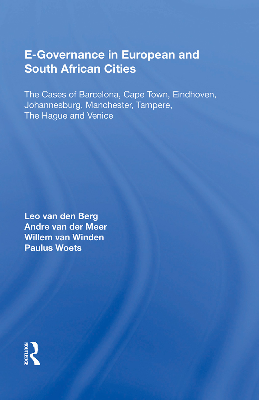 E-Governance in European and South African Cities