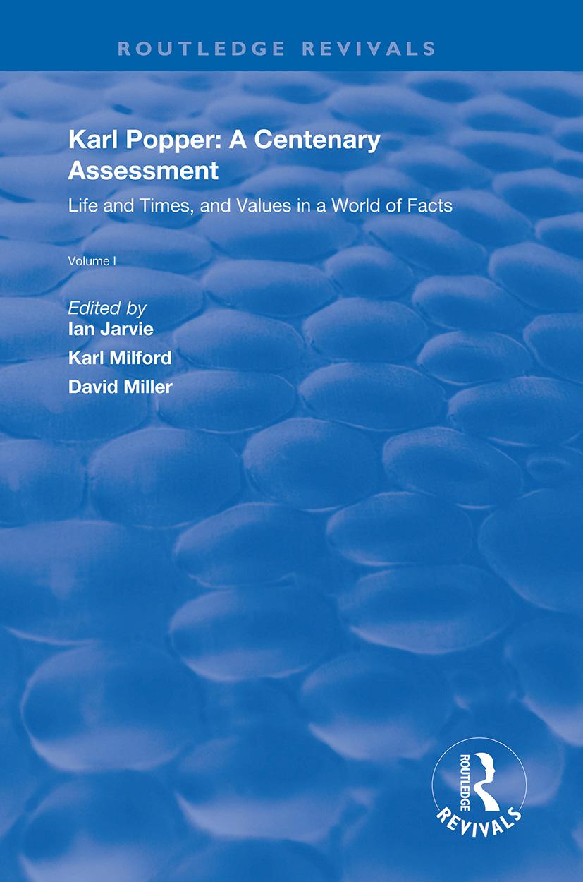 Karl Popper: A Centenary Assessment