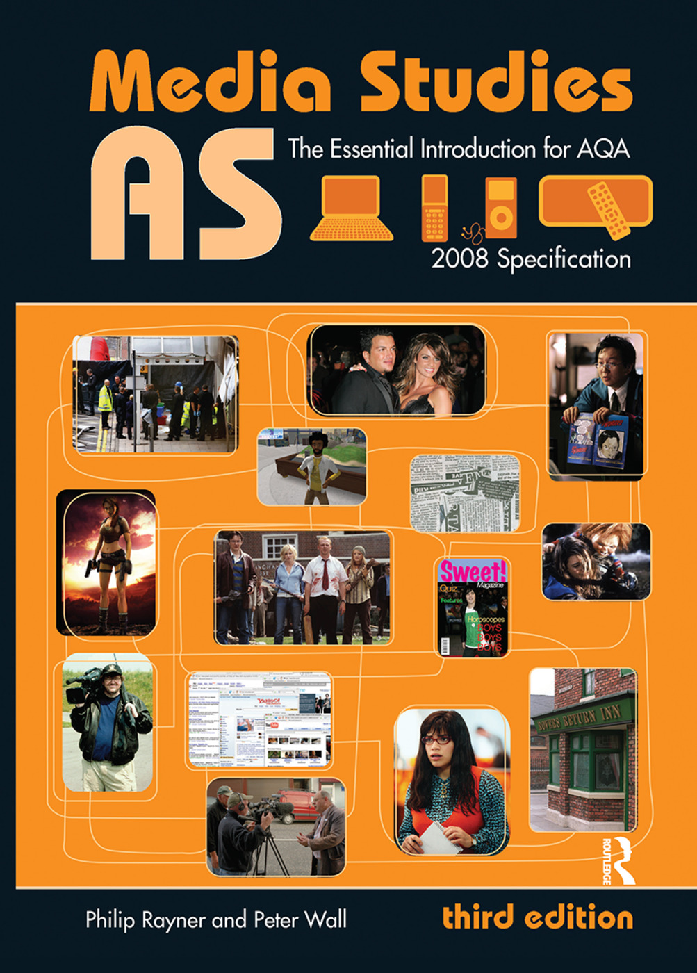 AS Media Studies: The Essential Introduction for AQA, 3rd Edition (Hardback) book cover
