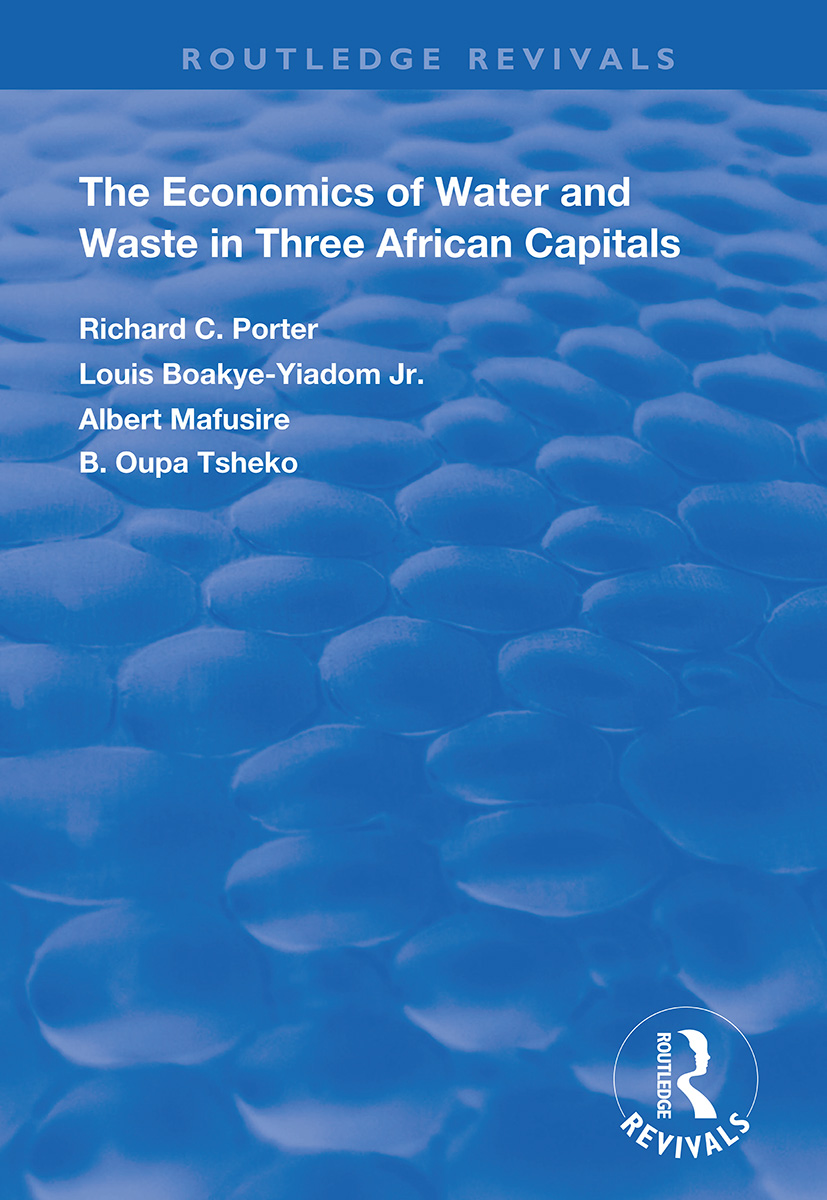 The Economics of Water and Waste in Three African Capitals