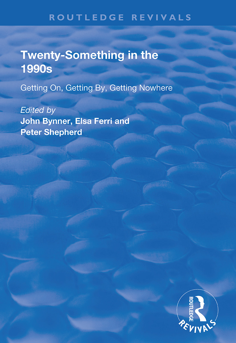 Twenty-Something in the 1990s: Getting on, Getting by, Getting Nowhere, 1st Edition (Paperback) book cover