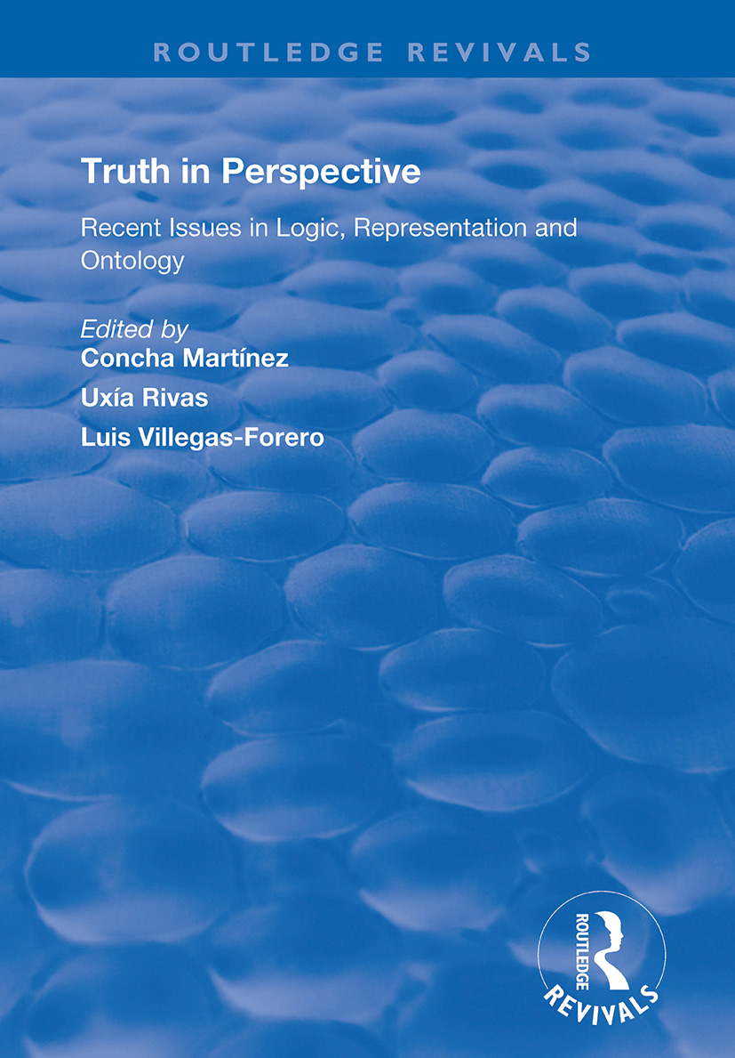 Truth in Perspective: Recent Issues in Logic, Representation and Ontology book cover