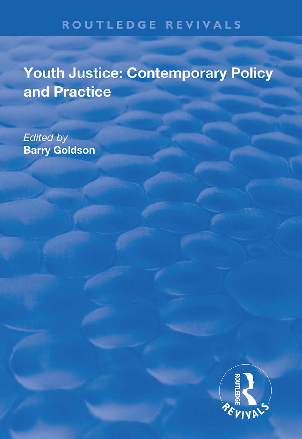 Youth Justice: Contemporary Policy and Practice book cover