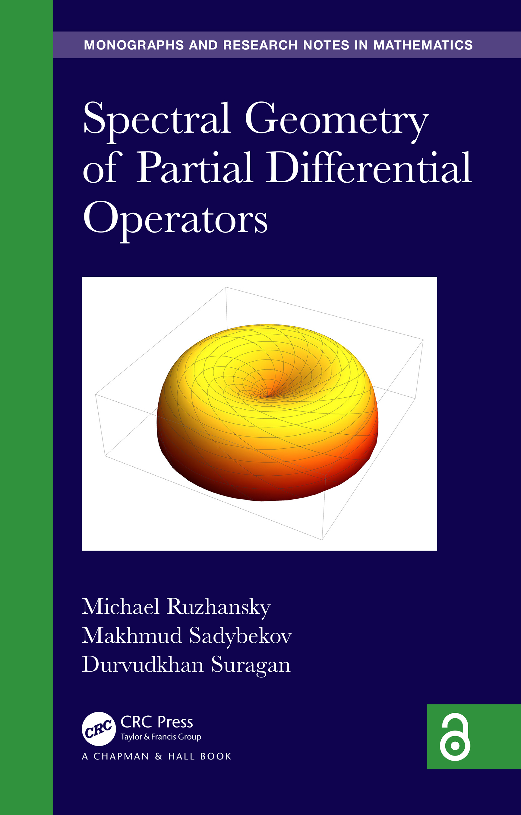 Spectral Geometry of Partial Differential Operators book cover