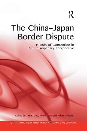 The China-Japan Border Dispute: Islands of Contention in Multidisciplinary Perspective book cover