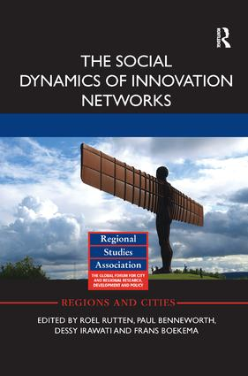 The Social Dynamics of Innovation Networks: 1st Edition (Paperback) book cover