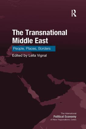 The Transnational Middle East: People, Places, Borders book cover