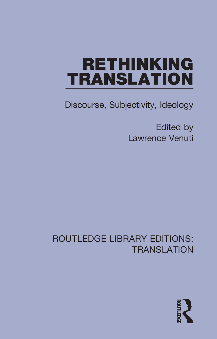 Rethinking Translation