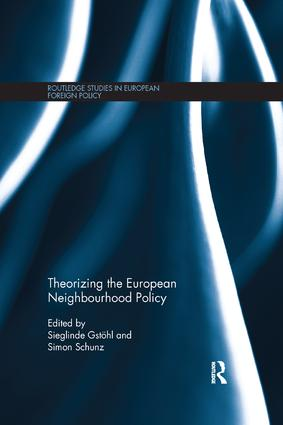Theorizing the European Neighbourhood Policy: 1st Edition (Paperback) book cover
