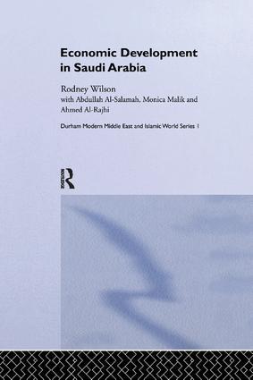 Economic Development in Saudi Arabia book cover