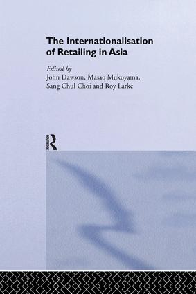 The Internationalisation of Retailing in Asia book cover