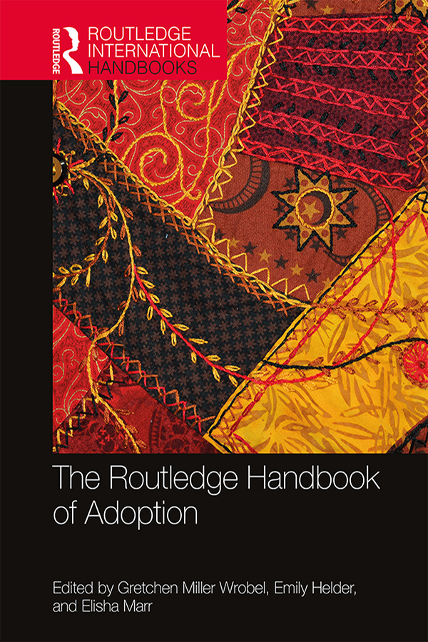 The Routledge Handbook of Adoption book cover