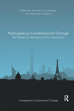 Participatory Constitutional Change: The People as Amenders of the Constitution book cover