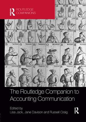 The Routledge Companion to Accounting Communication book cover