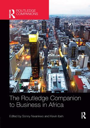 The Routledge Companion to Business in Africa: 1st Edition (Paperback) book cover