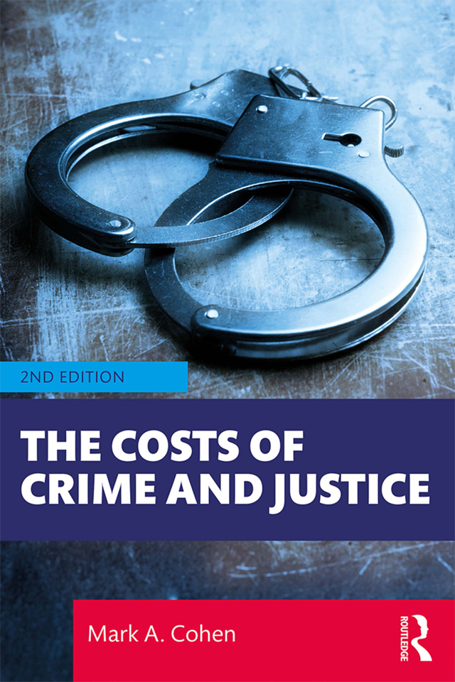 The Costs of Crime and Justice book cover