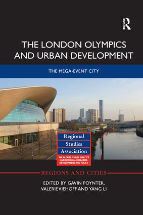 The London Olympics and Urban Development: The Mega-Event City book cover