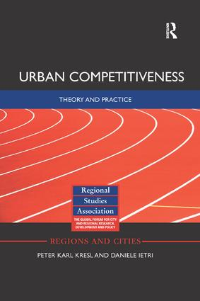 Urban Competitiveness: Theory and Practice, 1st Edition (Paperback) book cover
