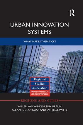 Urban Innovation Systems: What makes them tick? book cover