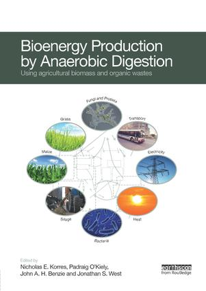 Bioenergy Production by Anaerobic Digestion: Using Agricultural Biomass and Organic Wastes book cover
