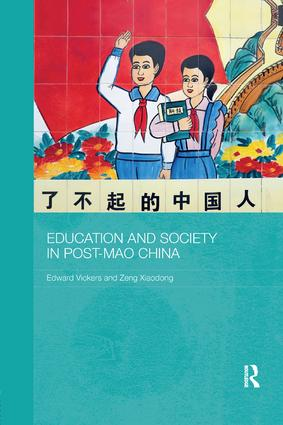 Education and Society in Post-Mao China book cover