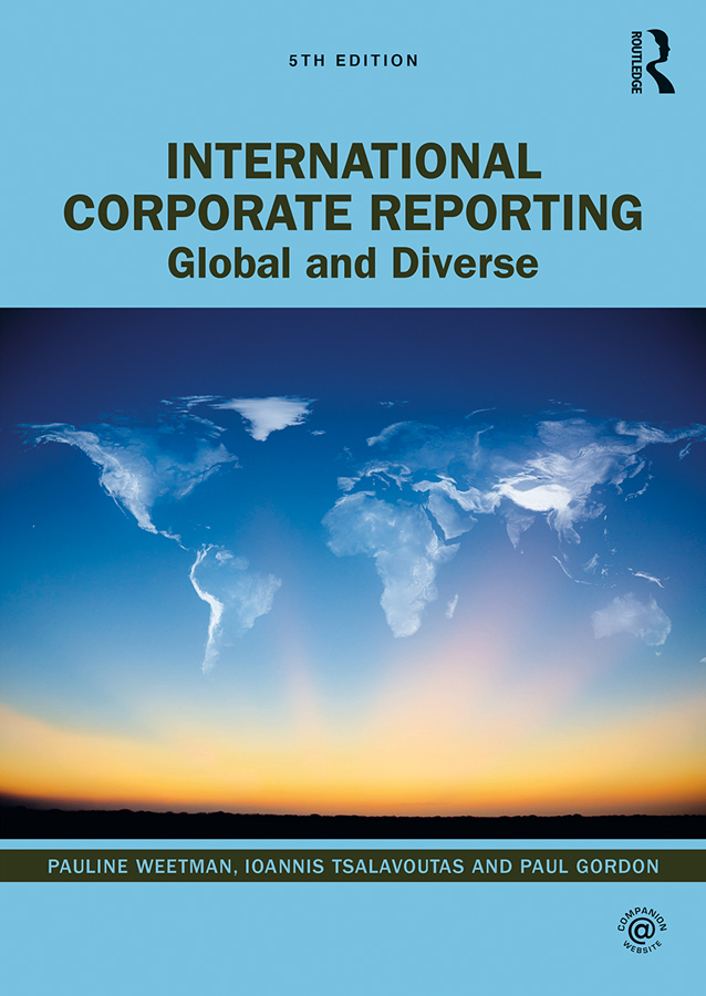 International Corporate Reporting: Global and Diverse book cover