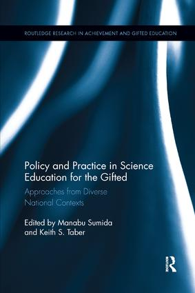 Policy and Practice in Science Education for the Gifted: Approaches from Diverse National Contexts book cover