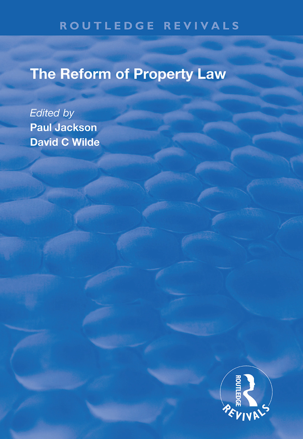 The Reform of Property Law book cover