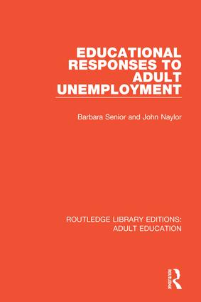 Educational Responses to Adult Unemployment book cover