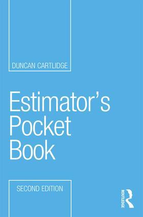 Estimator's Pocket Book 2e book cover